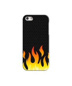Carbon Flame iPhone 5 Case