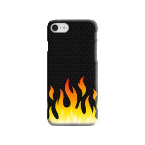 Carbon Flame iPhone 7 Case