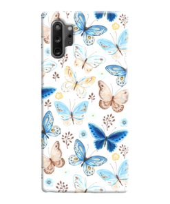 Colorful Butterflies Flying Samsung Galaxy Note 10 Case