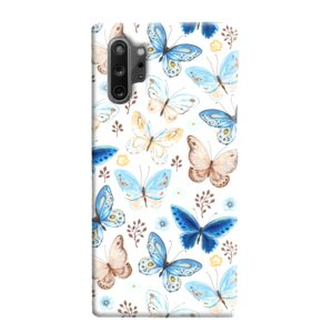 Colorful Butterflies Flying Samsung Galaxy Note 10 Plus Case