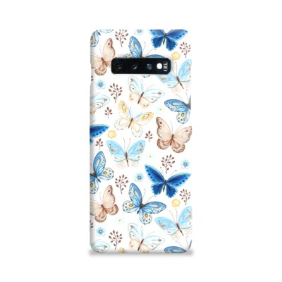 Colorful Butterflies Flying Samsung Galaxy S10 Plus Case