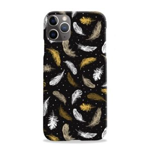 Colorful Feathers Peacocks iPhone 11 Pro Max Case