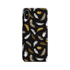 Colorful Feathers Peacocks iPhone X / XS Case