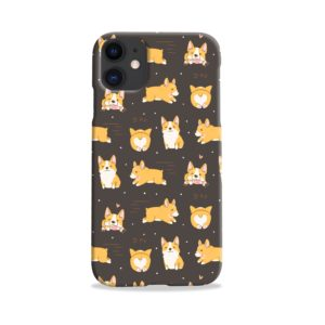 Corgi Dogs Pack Cute Kawaii Cartoon iPhone 11 Case