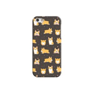 Corgi Dogs Pack Cute Kawaii Cartoon iPhone 5 Case