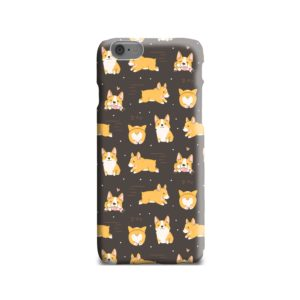 Corgi Dogs Pack Cute Kawaii Cartoon iPhone 6 Case