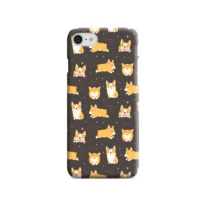 Corgi Dogs Pack Cute Kawaii Cartoon iPhone 8 Case
