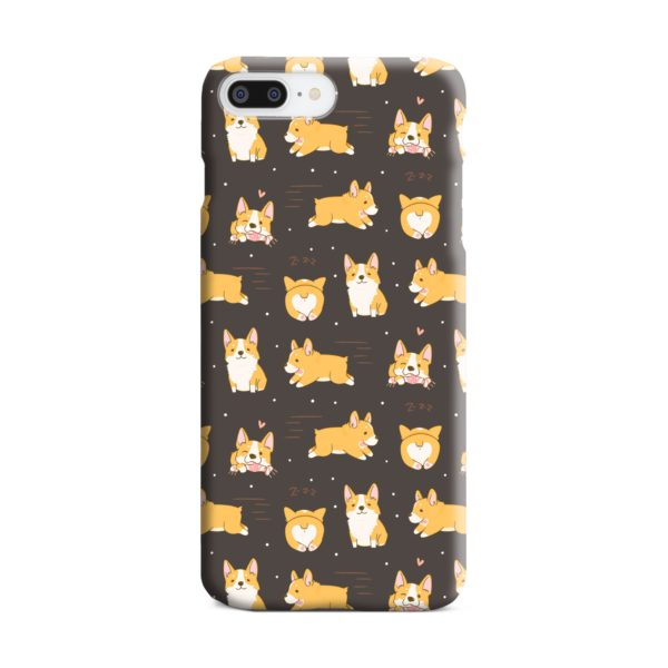 Corgi Dogs Pack Cute Kawaii Cartoon iPhone 8 Plus Case