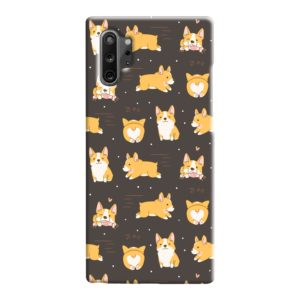 Corgi Dogs Pack Cute Kawaii Cartoon Samsung Galaxy Note 10 Case