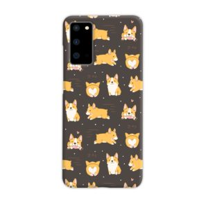 Corgi Dogs Pack Cute Kawaii Cartoon Samsung Galaxy S20 Case