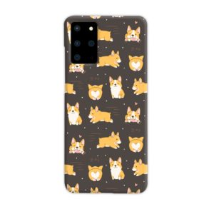 Corgi Dogs Pack Cute Kawaii Cartoon Samsung Galaxy S20 Plus Case