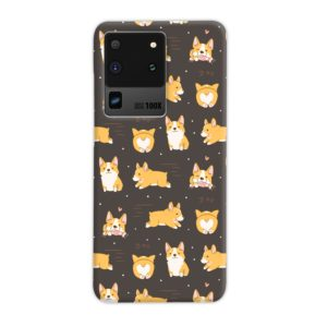 Corgi Dogs Pack Cute Kawaii Cartoon Samsung Galaxy S20 Ultra Case