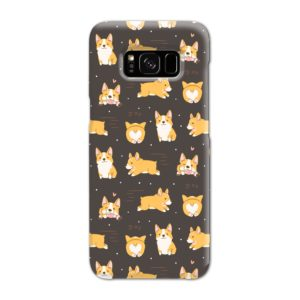 Corgi Dogs Pack Cute Kawaii Cartoon Samsung Galaxy S8 Case