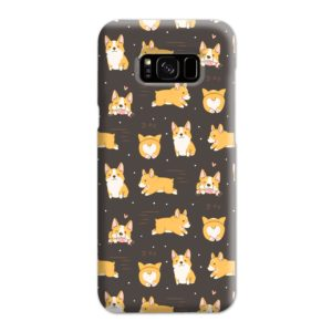 Corgi Dogs Pack Cute Kawaii Cartoon Samsung Galaxy S8 Plus Case