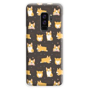 Corgi Dogs Pack Cute Kawaii Cartoon Samsung Galaxy S9 Plus Case