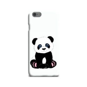 Cute Panda Cartoon iPhone 6 Case