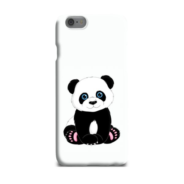Cute Panda Cartoon iPhone 6 Plus Case
