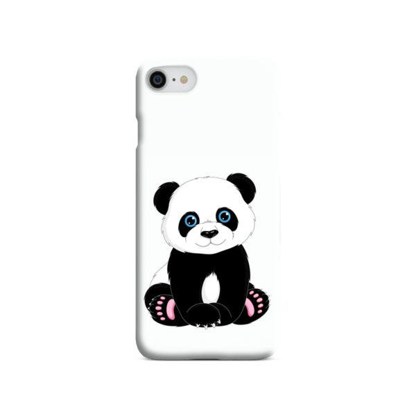 Cute Panda Cartoon iPhone SE (2020) Case