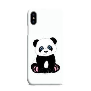 Cute Panda Cartoon iPhone XS Max Case