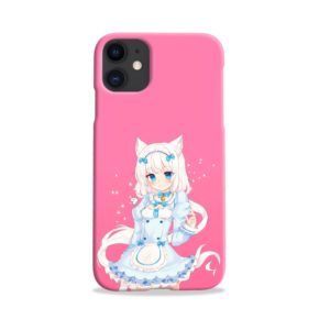 Cute Vanilla Nekopara iPhone 11 Case