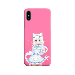 Cute Vanilla Nekopara iPhone X / XS Case