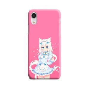 Cute Vanilla Nekopara iPhone XR Case