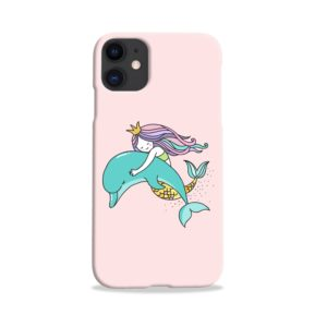 Dolphins Little Mermaid iPhone 11 Case