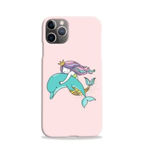 Dolphins Little Mermaid iPhone 11 Pro Case