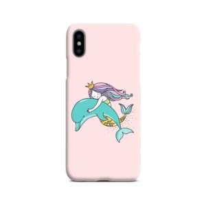 Dolphins Little Mermaid iPhone X / XS Case