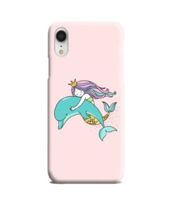 Dolphins Little Mermaid iPhone XR Case