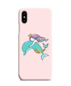 Dolphins Little Mermaid iPhone XS Max Case