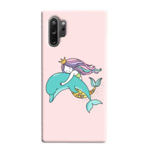 Dolphins Little Mermaid Samsung Galaxy Note 10 Plus Case