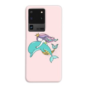 Dolphins Little Mermaid Samsung Galaxy S20 Ultra Case