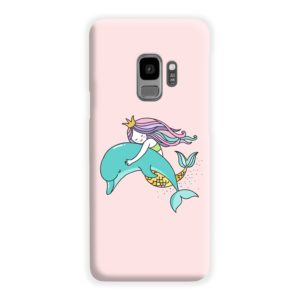 Dolphins Little Mermaid Samsung Galaxy S9 Case