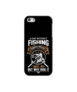 Funny Fishing Quotes about Life iPhone 5 Case
