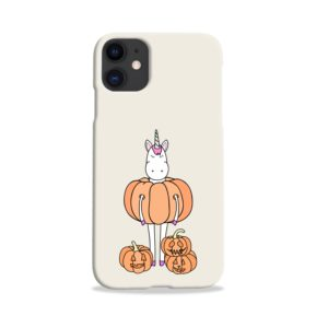 Funny Unicorn Pumpkin iPhone 11 Case
