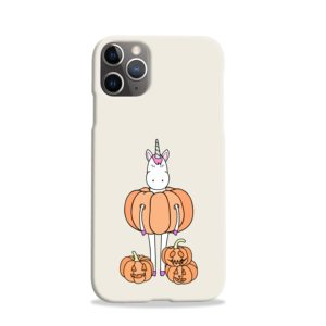 Funny Unicorn Pumpkin iPhone 11 Pro Case