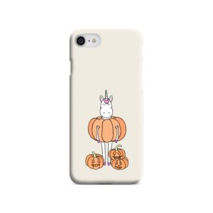 Funny Unicorn Pumpkin iPhone 7 Case