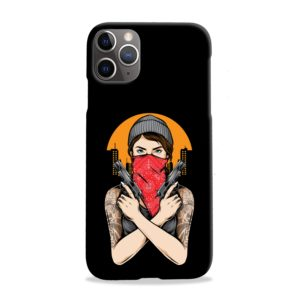 Gangster Girl Tattoo iPhone 11 Pro Max Case