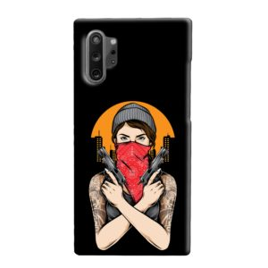 Gangster Girl Tattoo Samsung Galaxy Note 10 Plus Case