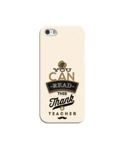 Gift and Teacher Quotes Inspirational iPhone 5 Case