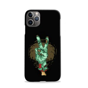 Hand Peace Sign iPhone 11 Pro Case