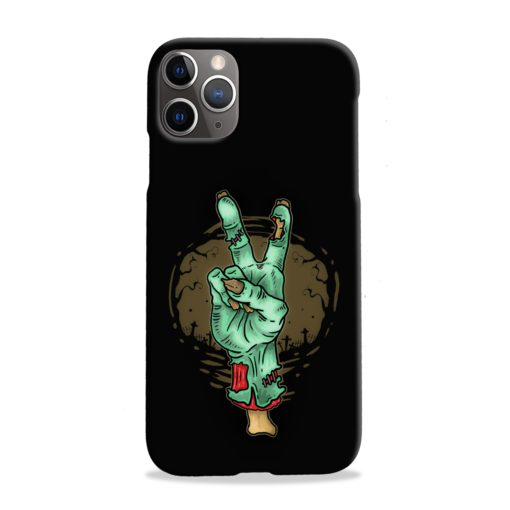 Hand Peace Sign iPhone 11 Pro Max Case