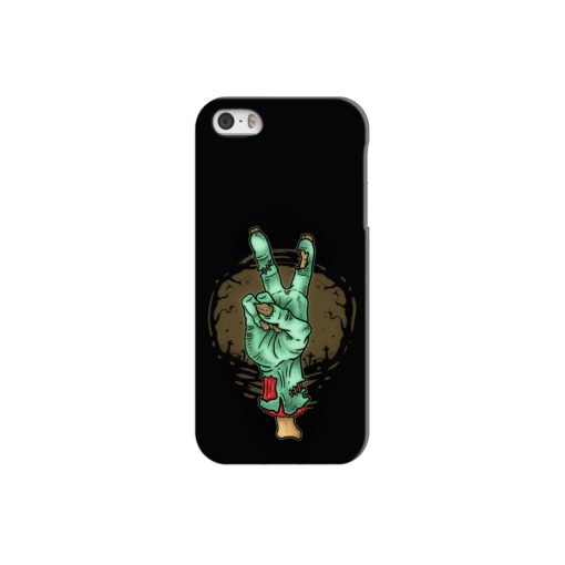 Hand Peace Sign iPhone 5 Case