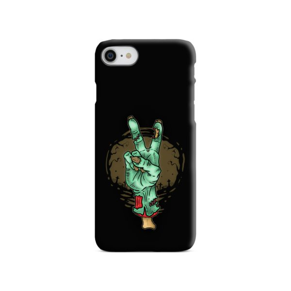 Hand Peace Sign iPhone 7 Case