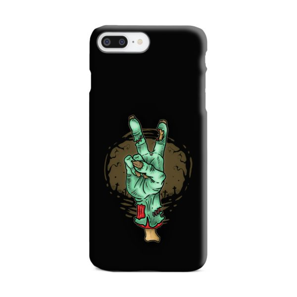 Hand Peace Sign iPhone 7 Plus Case