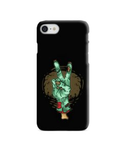 Hand Peace Sign iPhone 8 Case