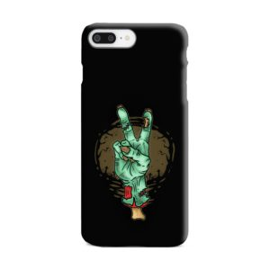 Hand Peace Sign iPhone 8 Plus Case