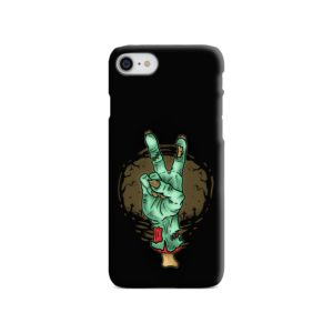 Hand Peace Sign iPhone SE (2020) Case