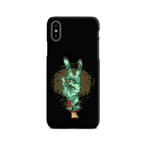 Hand Peace Sign iPhone X / XS Case